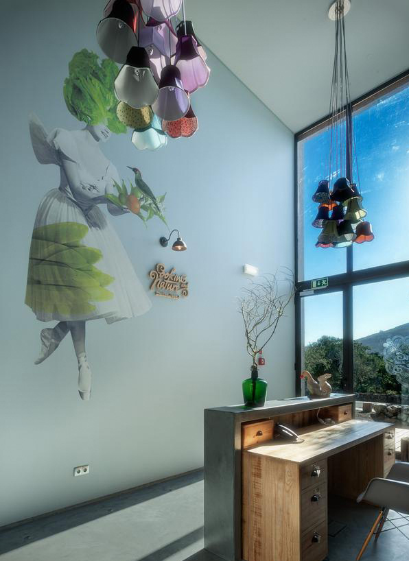 Hotel Cooking and Nature, decor project by Casazul, 2012