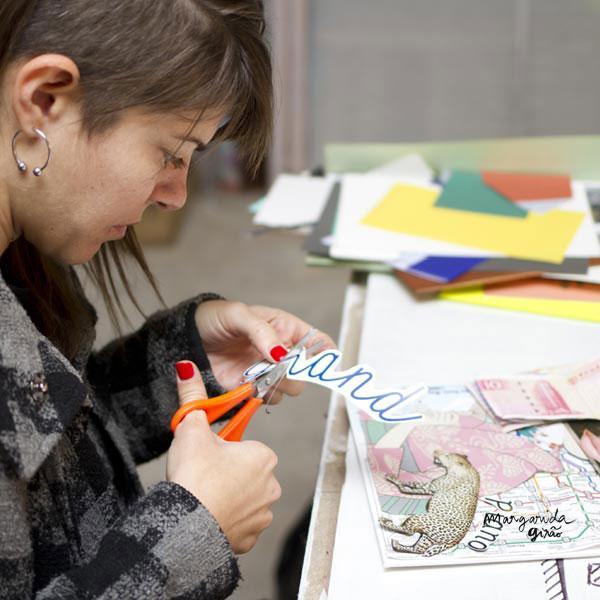 Colagem Workshop em Lisboa